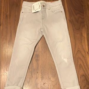 Zara slim fit Grey Denim 3/4